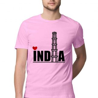 men tshirt INDIA print