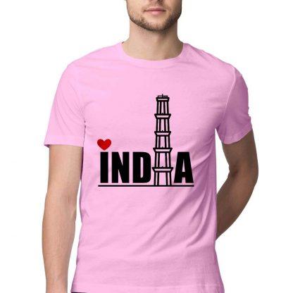 men tshirt INDIA print